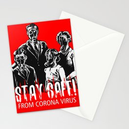 Stay Safe From CV Stationery Cards