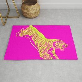 Tiger Running Rug
