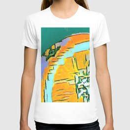 Summer Orange Beach Collection  T-shirt