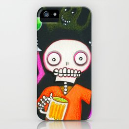 Halloween Happy Hour iPhone Case