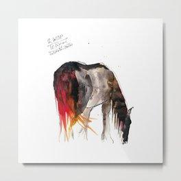 Horse (Wisp II) Metal Print