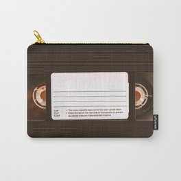 VHS Cassette Video Tape Carry-All Pouch
