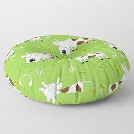 Cow Pattern | Cow Spots Farm Farmer Animal Milk Floor Pillow