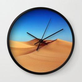 Desert blue Wall Clock