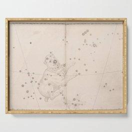 Johann Bayer - Uranometria / Measuring the Heavens (1661) - 36 Canis Major / The Great Dog Serving Tray