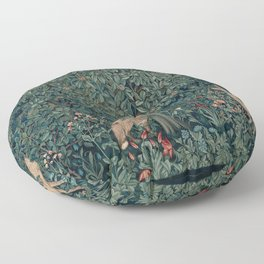 William Morris Greenery Tapestry Floor Pillow