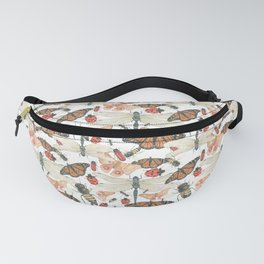 Scattered Bugs Fanny Pack