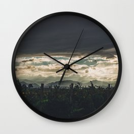 The Vineyard Wall Clock