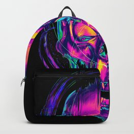Trippy Skull Backpack