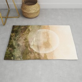 We are made of earth Rug