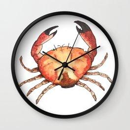 Crab: Fish of Portugal Wall Clock
