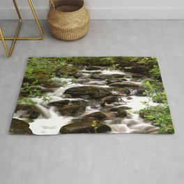 Mountain Creek - Summer Scene #decor #society6 #buyart Rug