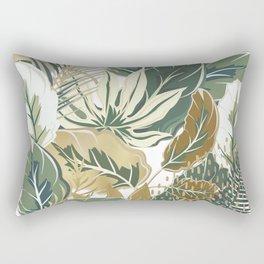Decor Art, Tropical Palm Trees, Prints Design Rectangular Pillow