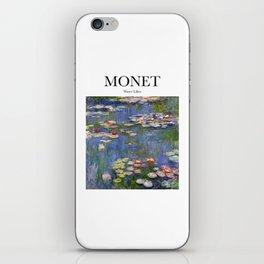 Monet - Water Lilies iPhone Skin