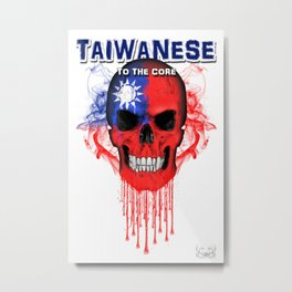 To The Core Collection: Taiwan Metal Print