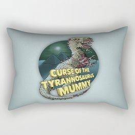 Curse of the Tyrannosaurus Mummy Rectangular Pillow