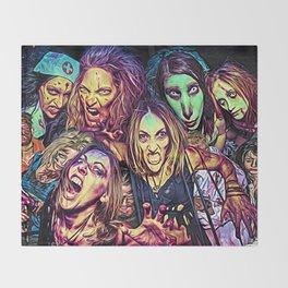 Spooky Halloween I Throw Blanket