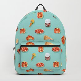 Foodie sweet & savory pattern Backpack