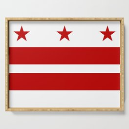 Flag of Washington D.C. Serving Tray