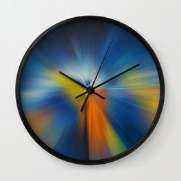 Abstract #3 - Colorful Radiation Wall Clock