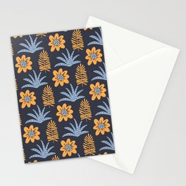 Magical garden - tropical plants print Stationery Cards
