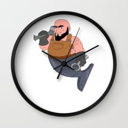 Blacksmith Metal Worker St Clements Day Iron Wall Clock