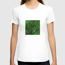 Green Jungle Layers 1 T-shirt