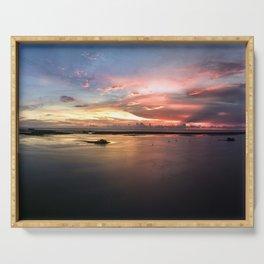 Superwide Dunedin Sunset Serving Tray