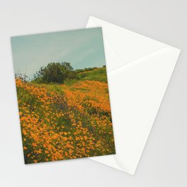 California Poppies 015 Stationery Cards