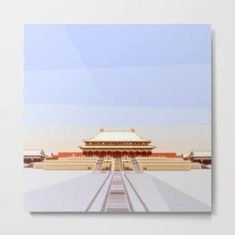Forbidden City, Beijing, China Metal Print