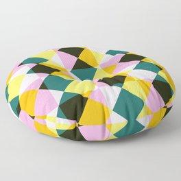 Onocentaur - Colorful Decorative Abstract Art Pattern Floor Pillow