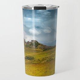 Cumbemayo - stone forest in Peru Travel Mug
