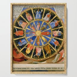 """Fra Angelico (Guido di Pietro) """"The Mystical Wheel (The Vision of Ezekiel)"""" Serving Tray"""
