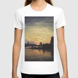 Johan Christian Dahl - Swinoujscie In The Moonlight - Digital Remastered Edition T-shirt