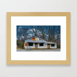 Pucketts Builders Supply Framed Art Print