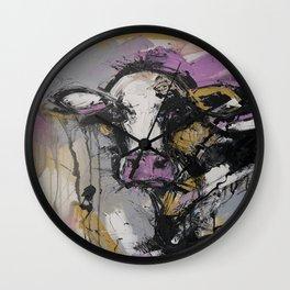 New Breed Cow 1 Wall Clock