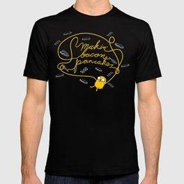 Jake Makin' Bacon Pancakes T-shirt