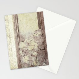 Flowers in the water Stationery Cards