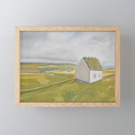 The Green of Home Framed Mini Art Print