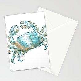 Coastal Crab Stationery Cards