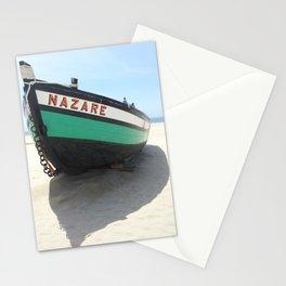 nazare canoe Stationery Cards
