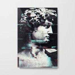 Abstract fractions of David Metal Print