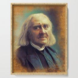 Franz Liszt, Music Legend Serving Tray
