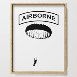 Airborne Jump Paratrooper Serving Tray