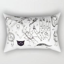 Witchcraft Flash Sheet Rectangular Pillow