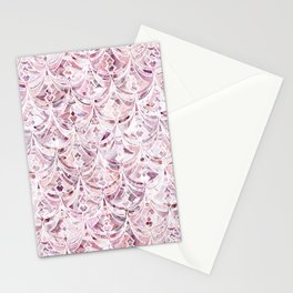 Berry Frosting Art Deco Pattern  Stationery Cards