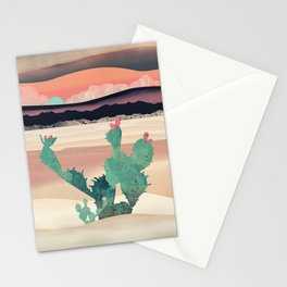 Desert Dawn Stationery Cards