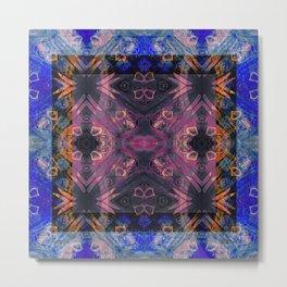 Dance of Emergence Neo Tribal Visionary Study Metal Print