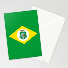 flag of ceara Stationery Cards