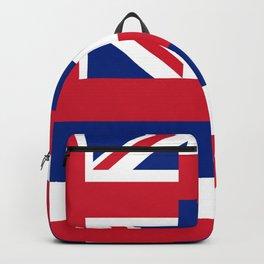 flag of hawai,america,usa,Aloha State, Paradise of the Pacific, Hawaiian,oceania,Honolulu,Maui,Oahu, Backpack